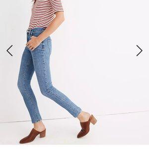 "Madewell Petite 9"" Mid-Rise Skinny Jeans 27P"